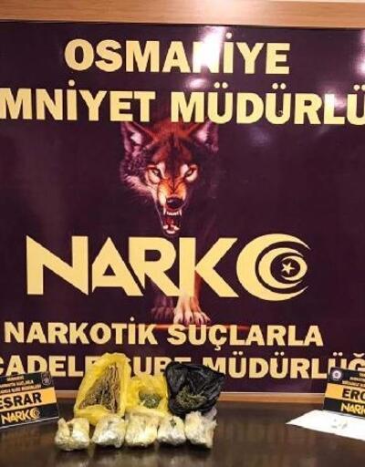 Osmaniye'de, uyuşturucu tacirinin evine baskın