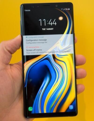 Galaxy Note 9 için Android 10 güncellemesi yayınlandı