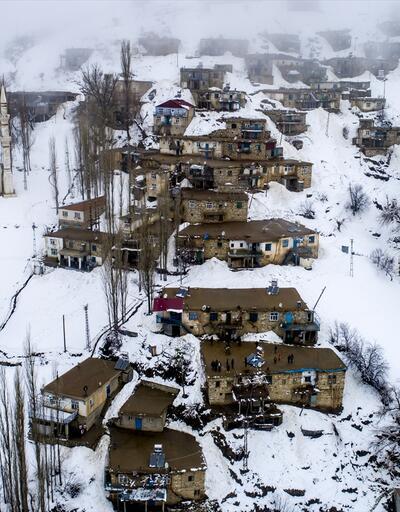 Doğu Anadolu'da kış güzelliği