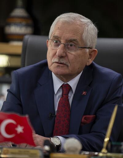 YSK Başkanı Sadi Güven 'biyometrik kimlik' açıklaması