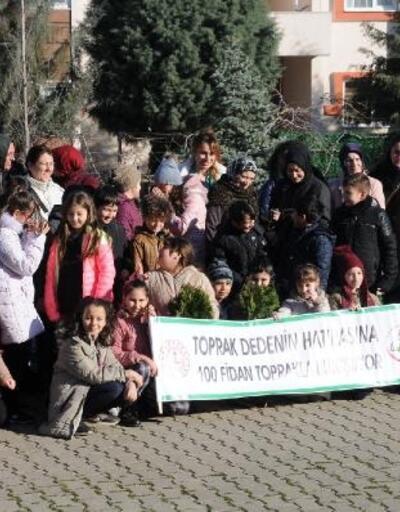 Yalova'da Hayrettin Karaca anısına 100 fidan