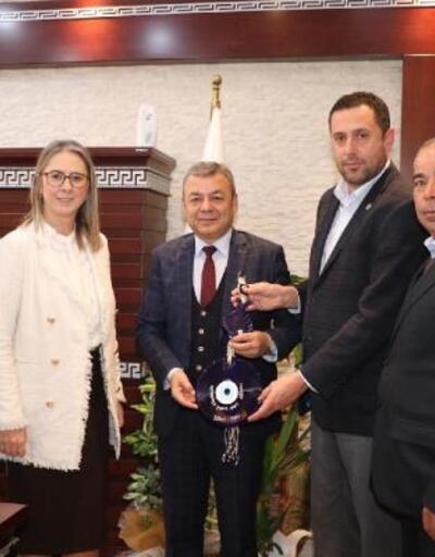 AK Partili  Bölünmez Çankırı'dan yeni atanan İzmir Tarım ve Orman İl Müdürü'ne ziyaret