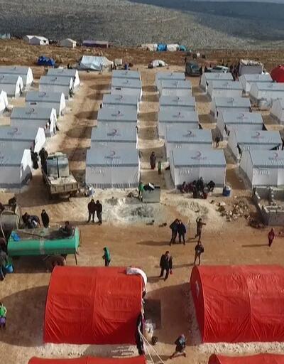 Kızılay İdlib'e 1000 briket ev yapıyor