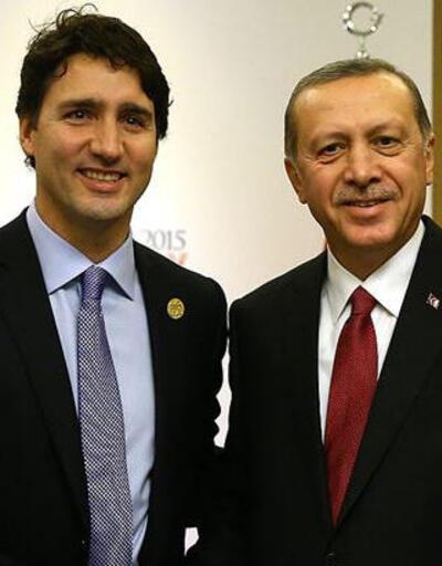 Son dakika... Cumhurbaşkanı Erdoğan, Kanada Başbakanı Trudeau ile görüştü