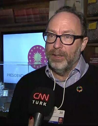 Wikipedia kurucusu CNN TÜRK'te