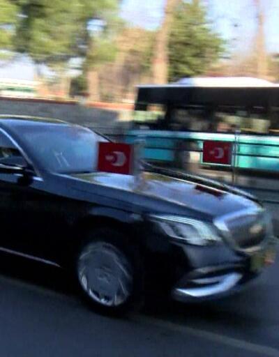 Erdoğan ve Merkel açılış töreni için yola çıktı