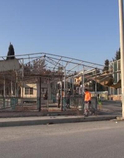 Mevzuata aykırı şekilde inşa edilen yapı yıkıldı