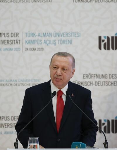 Erdoğan ve Merkel, İstanbul'da açılış törenine katıldı