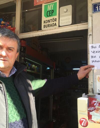 Hayırsever vatandaş, İzmit'te bakkalda veresiye defterini kapattı