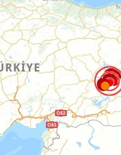 """DEPREM! Kandilli Rasathanesi """"son depremler"""" tablosu 24 Ocak"""