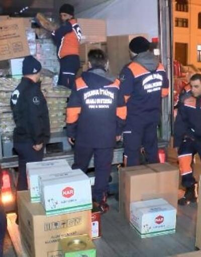 İBB Arama kurtarma ekipleri Elazığ'a gitti