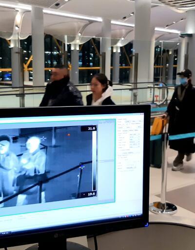 İstanbul Havalimanı'nda Çinli yolcuların taraması sürüyor