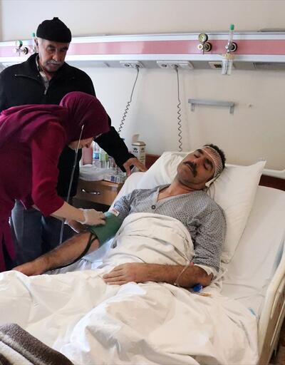 """Elazığ'daki depremde yaralanan vatandaşlar """"deprem anını"""" anlattı"""