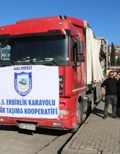 Ereğli'de depremzedeler için yardım kampanyası