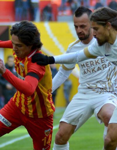Hes Kablo Kayserispor - Ankaragücü: 1-1