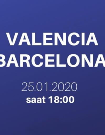 Valencia Barcelona maçı şifresiz canlı izle