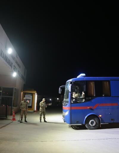 Adıyaman'daki 200 mahkum İslahiye'ye getirildi