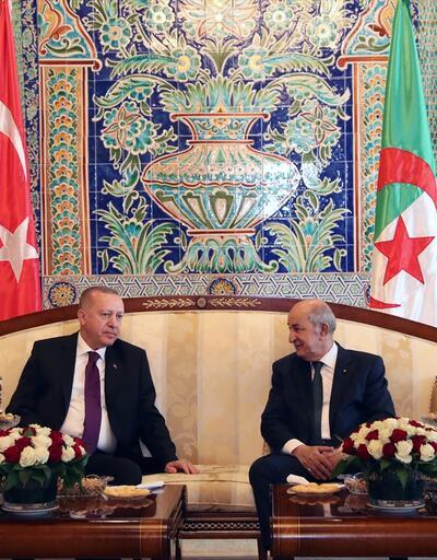 Cumhurbaşkanı Erdoğan, Tebbun ile görüştü