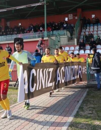 Amatör lig takımından 'Elazığ' kampanyası