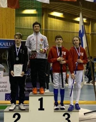 Cengizhan Öner Finlandiya'da şampiyon oldu