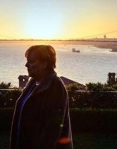 Merkel'den İstanbul paylaşımı: Allahaısmarladık