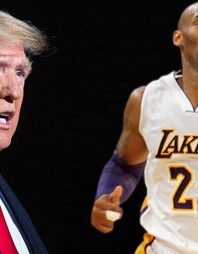 ABD Başkanı Trump'tan Kobe Bryant paylaşımı