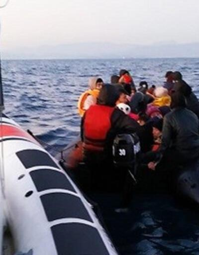 Balıkesir'de 40 düzensiz göçmen yakalandı