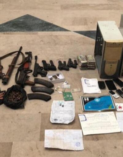 Tel Abyad'da 5 terörist gizlendikeri evde yakalandı
