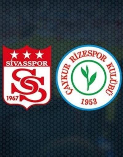 Sivasspor Rizespor CANLI YAYIN