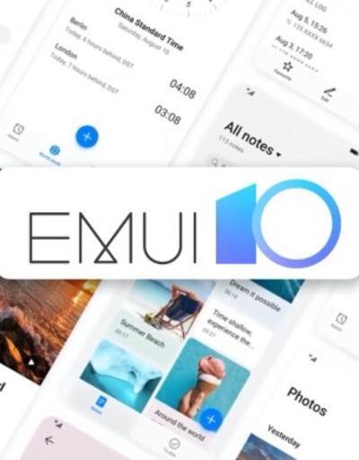 EMUI 10 güncellemesi alacaklar telefonlar
