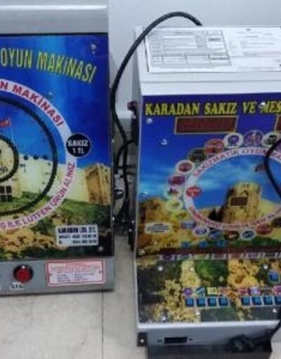Kayseri'de kumar operasyonu: 1 gözaltı