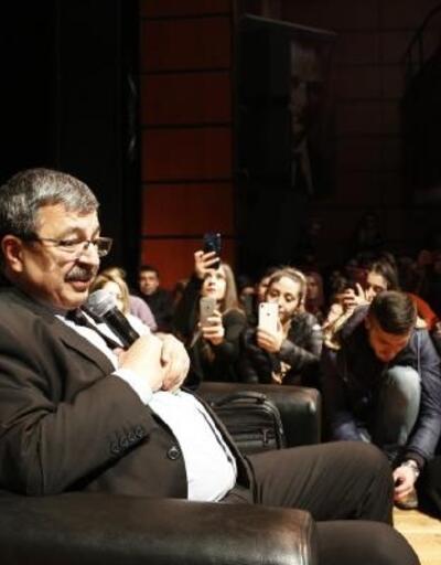 Kayseri'de 'Can Veren Pervaneler' söyleşisi
