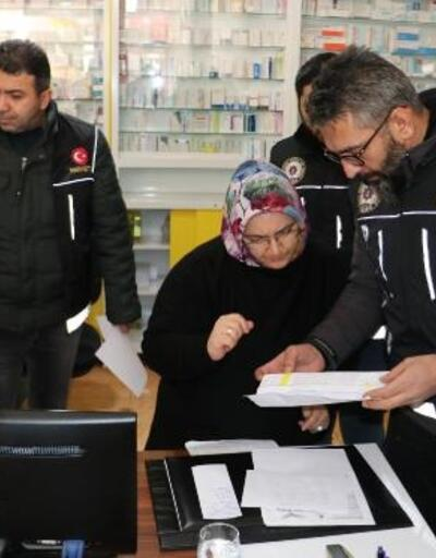 Ankara'da eczanelere 'sentetik ilaç' denetimi