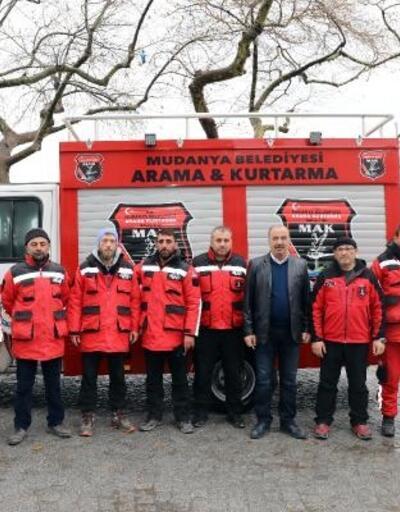 Mudanya Arama Kurtarma ekipleri Bursa'ya döndü