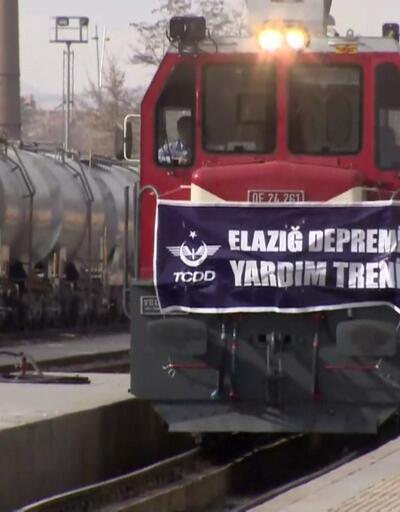 Elazığ'a hayat vagonu