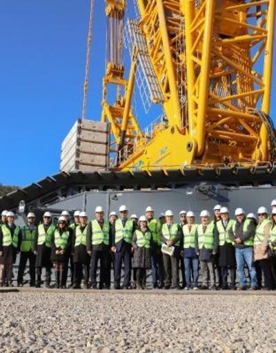 Türk girişimciler Akkuyu NGS inşaat sahasını ziyaret etti