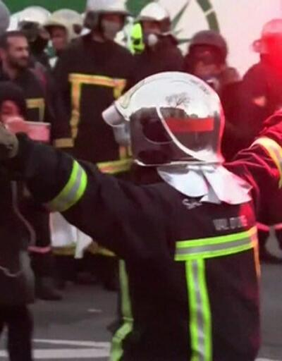 Paris sokakları yine karıştı
