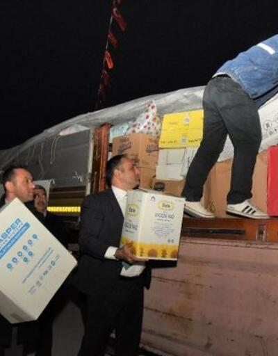 Toroslar Belediyesi'nin yardım TIR'ı afet bölgesine gönderildi
