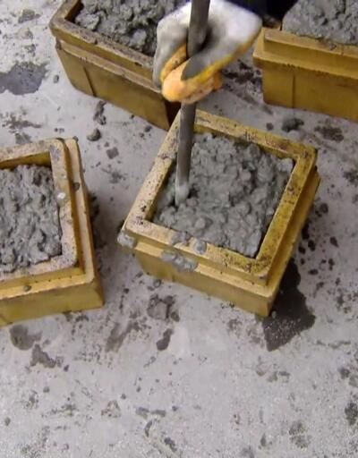 Elektronik beton izleme sistemi
