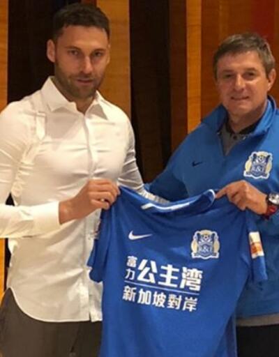 Dusko Tosic Çin'den ayrıldı