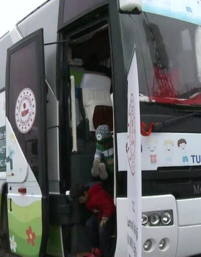 Tunceli'den gelen gezici anaokulu çadırkentte