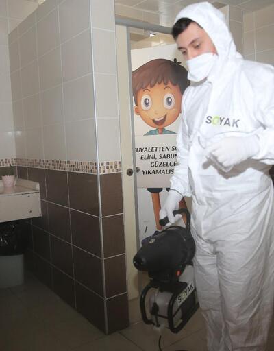 Ümraniye'de okullarda gribe ve bulaşıcı hastalıklara karşı önlem