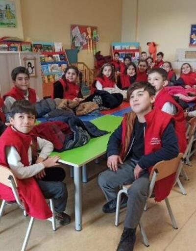 Kütüphanede Çocuk Hakları Köşesi açıldı