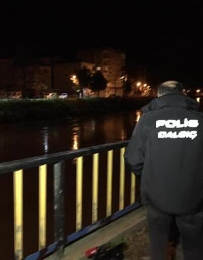 Irmağa düşen kızını kurtarmak için suya atlayan baba kayboldu