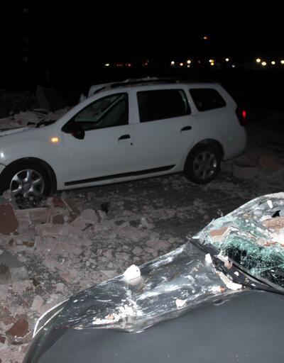 Kayseri'de şiddetli rüzgar etkili oldu