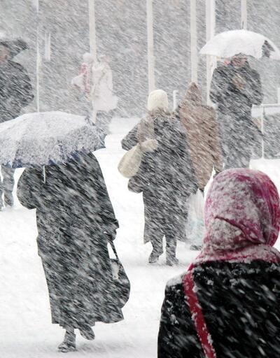 Hava durumu 7 Şubat: Kar geliyor! Meteoroloji İstanbul için saat verdi