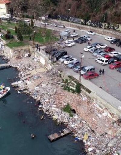 Çöplüğe dönen sahilin ihalesi 9 Mart'ta yapılacak