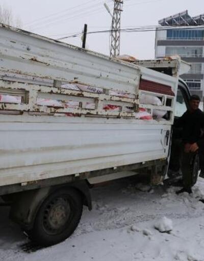 Varto'dan Elazığ ve İdlib'e yardım