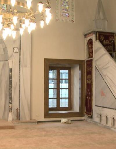 Mercan Ağa Camii restore edildi