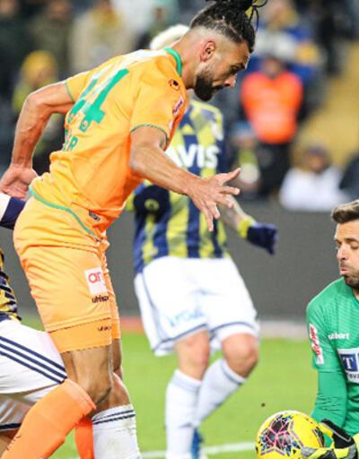 Fenerbahçe - Alanyaspor: 1-1